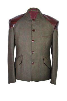 Kitoko Country Tweed Field Jacket by Benjamin Kitoko