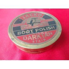 Boot Polish Brass Compass