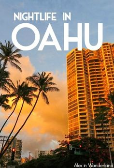 Oahu has the perfect combination of urban energy and tropical beach bliss that I'm always searching for. But how did the nightlife stack up? Hawaii 2017, Aloha Hawaii, Hawaii Vacation, Beach Trip, Visit Hawaii, Beach Travel, Hawaii Things To Do, Hawaii Travel Guide, Hawaii Adventures