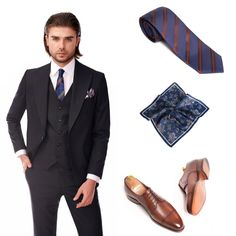 #menstyle #suit #accesories Choose the right accesories Costumes, Suits, Men, Fashion, Moda, Dress Up Clothes, Fashion Styles, Fancy Dress, Suit