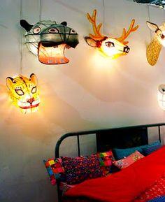 animal head lights!