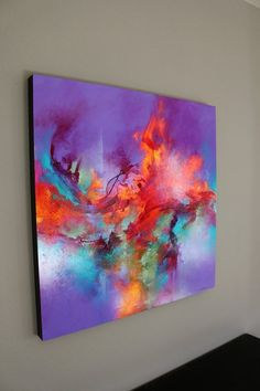 I create a diverse range of acrylic works on deep, all-wood panels (black painted edges). My main goal when painting is to create unforgettable, dynamic work. I focus on combining natural elements… Source by vividinsp Acrylic Pouring Art, Acrylic Art, Pintura Graffiti, Painting Edges, Diy Canvas, Contemporary Paintings, Painting Inspiration, Colour Inspiration, Modern Art