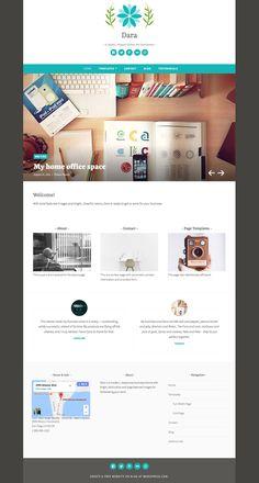 Dara Theme ‹ Rebirth of Wonders — WordPress.com