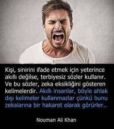 But sometimes it can be helper than the other words for desciribe who makes you angry Nouman Ali Khan, Interesting Information, Cool Words, Karma, Einstein, Qoutes, Psychology, Nostalgia, Wisdom