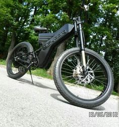 Electric bike by our company . tops 90kmh