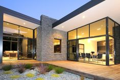 Glass Walls and Clever Energy-Reducing Ideas: Dulieu Residence in New ZealandDesignRulz29 April 2013In developing this project, the architects at practice Studio MWA started from the characteristics of the site, a lovely nature... Architecture
