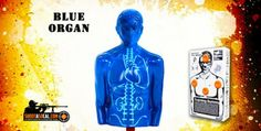 """Blow up """"Blue Organ"""" zombie target, filled with explosives!"""