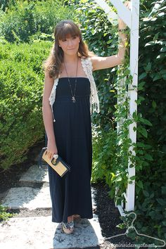 New outfit post at www.stepinsidemycloset.com ! Such a simple maxi can be turned into a seventies style inspired outfit, perfect for a sunny day out! Featuring @Coach, Inc. , @Abercrombie & Fitch , @Chinese Laundry Shoes and @Marshalls #fabfound