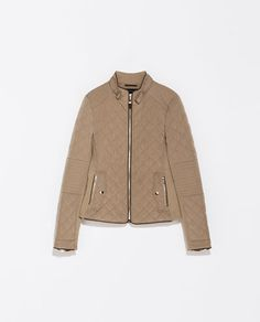 Image 7 of COMBINATION QUILTED JACKET from Zara