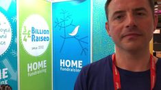 Dominic Will of HOME Fundraising at #IoFFC 2018