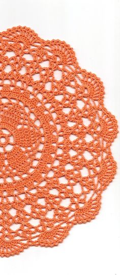 Halloween, Crochet doily, lace doilies, crocheted place mat, center piece, doily tablecloth, napkin, handmade doilies, orange