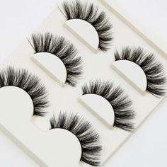 3D Three-dimensional Multi-layer Thick False Eyelashes Handmade Cotton Stems Fake Eyelashes Stage Smoked Makeup Lashes Tool