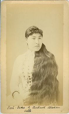 ah-Yicks from the village of Sitka - Tlingit - circa 1880