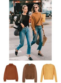 Fall Colored Knits http://anoteonstyle.com/fall-colored-knits/?utm_campaign=coschedule&utm_source=pinterest&utm_medium=A%20Note%20On%20Style&utm_content=Fall%20Colored%20Knits
