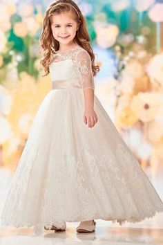 3a87f6ecdef 21 Flower Girl Dresses To Create A Magic Look
