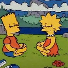 10 Times We Connected To Lisa Simpson From 'The Simpsons' On A Spiritual Level Cartoon Memes, Cartoon Pics, Cartoon Characters, Cartoons, The Simpsons, Lisa Simpson, Waylon Lewis, Futurama, How To Do Yoga