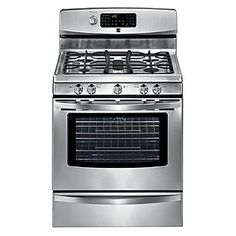 "Kenmore- -30"" Freestanding Gas Range. Is it possible to get one that has the nobs on the top in the back? Away from little children reach?"