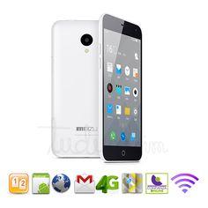 "Meizu m1 note blanco octa core 64bit - lte: 4g - 16gb rom - 5.5"" > Móviles meizu > Teléfonos móviles libres | Tudualsim dual sim android | Moviles libres dualsim doble sim"