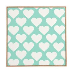 Allyson Johnson Minty Love Framed Wall Art | DENY Designs Home Accessories