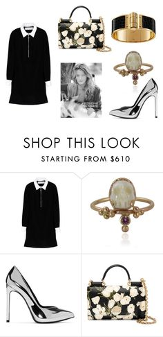 """""""THIS TOWN"""" by laura-melissa-cortes on Polyvore featuring moda, Victoria, Victoria Beckham, memento, Yves Saint Laurent, Dolce&Gabbana y Whiteley"""