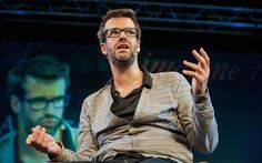 'If Pac-Man had affected us as kids, we'd all be running around in dark rooms, munching pills and listening to repetitive electronic music.' - Marcus Brigstocke (8 May 1973 -)
