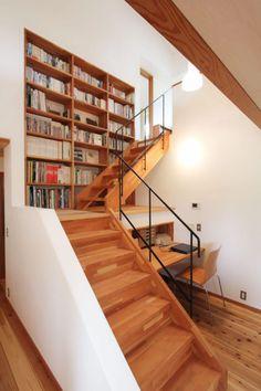 Here are some creative ways to incorporate #BookStorage in & around stairs! #InteriorDesign http://www.home-designing.com/under-stairs-shelf-ideas-for-book-storage?utm_source=&utm_medium=&utm_campaign=&utm_content=