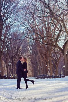 Oh to be proposed to in Central Park....