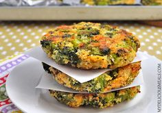 Baked Broccoli Patties