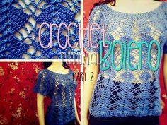 Crochet Bolero Tutorial Part 2 of 10