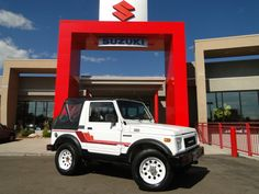 Classic Samurai. This is the amazing vehicle that established Suzuki as a 4x4 / AWD force in the USA!