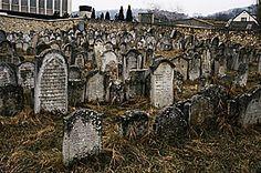 Jewish Cemetery  Esienstadt, Germany