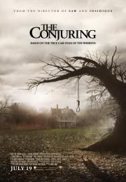The Conjuring        The Conjuring      Prizivanje zla  Ocena:  7.50  Žanr:  Horror  In 1971 family man Roger Perron and his wife Carolyn move to an old farmhouse in Rhode Island with their daughters Andrea Nancy Christine Cindy and April. The family finds a hidden basement which the entrance is locked with planks. Soon they are haunted by noises and ghosts and Carolyn meets the famous paranormal investigators Lorraine and Ed Warren. They visit the house and Lorraine and Ed feel that the…