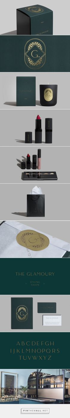 The Glamoury — The Dieline - Branding & Packaging Design... - a grouped images picture - Pin Them All