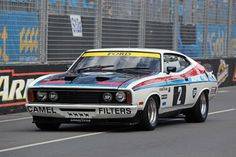 Colin Bond's (2) Ford XC Falcon Cobra V-8 Hardtop,competing as part of the Bond/Moffart Racing Team story at Bathurst,NSW and the rest of the story will go down in Australian Racing History. v@e.