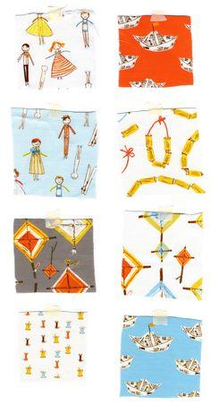 More aqua Macaroni Love Story (Heather Ross, OOP fabric) Lattice Quilt, Heather Ross, Fabulous Fabrics, Fabric Swatches, Spoonflower, Macaroni, Love Story, Printing On Fabric, Print Patterns