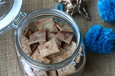 Cinnamon and Sugar crackers...where have you been all my life?!