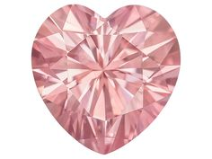 Moissanite Pink Luisant (Tm) Average .60ct Diamond Equivalent Weight 5.5x5.5mm Heart Shape Moissanite, Heart Rings, Diamond Drawing, How To Feel Beautiful, Pink, The Incredibles, Make It Yourself, Gemstones, Drawings