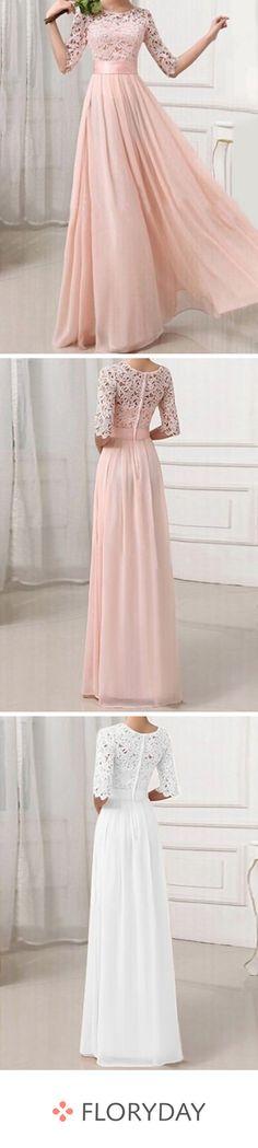 Solid half sleeve maxi X-line dress, prom dress, sweet, beautiful. Older Bride Dresses, Floryday Dresses, Dresses For Sale, Evening Dresses, Fashion Dresses, Formal Dresses, Wedding Bridesmaid Dresses, Wedding Gowns, Bridesmaids