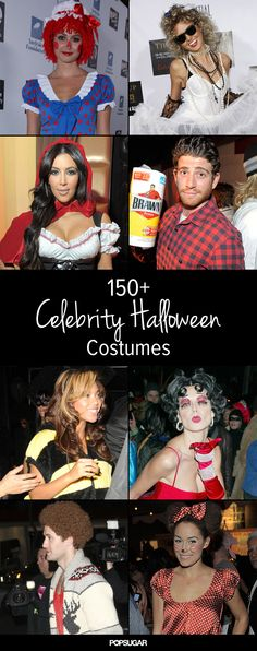 Celebrity Halloween Costume Inspiration! It's not too early to start planning!