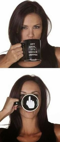The un-Official Barack Obama Coffee Cup!
