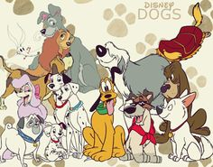 Similar to the Disney Princess and Disney Villains franchise, the Disney Dogs have their own franchise. The franchise consists of Disney's most well-known and beloved dogs. Pluto, Goofy, Fifi the Peke, Ronnie, Bolivar, Pluto Junior, Dinah the Dachshund, Butch the Bulldog, Pluto's Kid Brother, Toliver the St. Bernard, Bowser