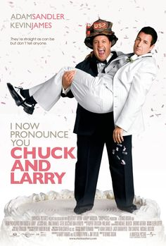 I Now Pronounce You Chuck and Larry Starring: Adam Sandler, Kevin James, Jessica Biel, Dan Aykroyd, Lance Bass and Richard Kline Funny Movies, Top Movies, Comedy Movies, Great Movies, Movies And Tv Shows, Movies Free, Watch Movies, Kevin James, Livros