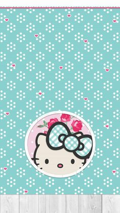 Sanrio Wallpaper, Wallpaper Backgrounds, Iphone Wallpaper, Hello Kitty Backgrounds, Hello Kitty Wallpaper, Chanel Wallpapers, Cute Wallpapers, Hello Kitty Pictures, Decoupage