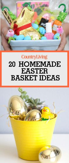 Easter baking gift basket surprise your hostess with this fun gift 21 cute homemade easter basket ideas negle Images
