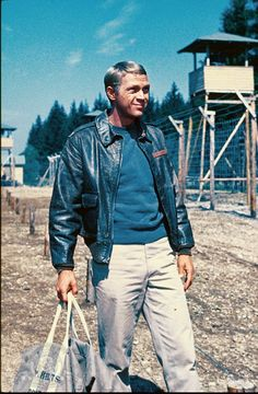 Still of Steve McQueen in The Great Escape ~ The Cooler King