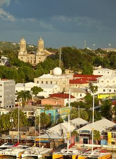 St. Johns, Antigua--Where I'd Like to go