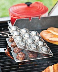 meatball grill basket...williams-sonoma