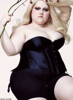Beth Ditto in Out magazine, May 2009