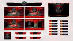 Fiverr freelancer will provide Graphics for Streamers services and design twitch overlay for your stream platform including Logo Design within 2 days Logo Dragon, Team Logo Design, Design Art, Graphic Design, Media Kit, Retro Logos, Photo Logo, Game Logo, Overlays