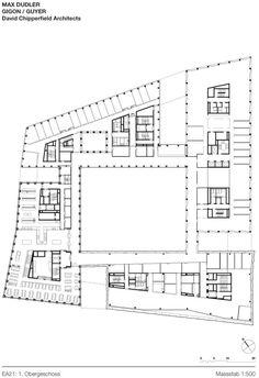 David Chipperfield Architects, Stefan Müller · EUROPAALLEE 21. Freischützgasse House